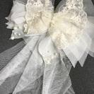 ヘアアクセサリー ウェディング用 結婚式 コサージュ