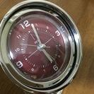シンプルな置時計(アラーム機能つき)