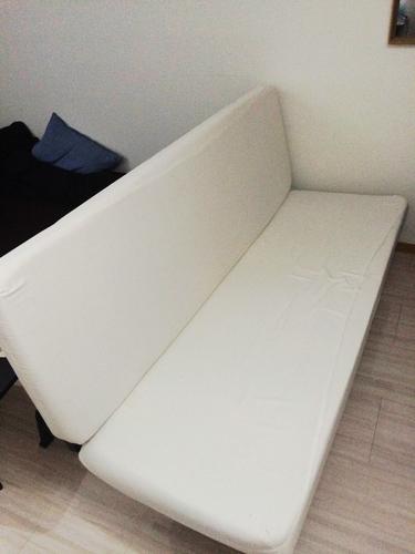 Ikeaイケア Exarby 3人掛けソファベッド ブラットホルメン ホワイト