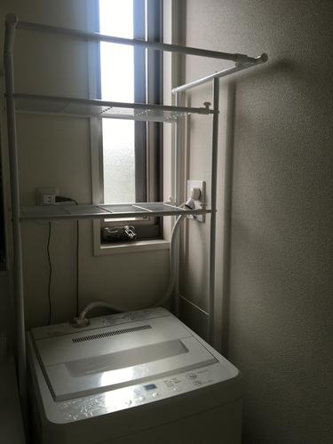 無印良品洗濯機+ラック - 世田谷区