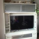 ハイタイプ 収納付テレビボード