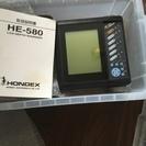 ホンデックス HE-580 魚群探知機 ★超美品★ 水温センサー...