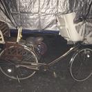 【売却済】3人乗り自転車 丸石サイクル