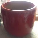 陶器、植木鉢(底穴有り)