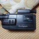 とても古いビデオカメラ(明日で切ります。値段交渉受けます)