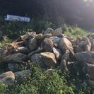 庭石、記念碑用石、石積用石