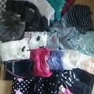 120~140女の子服。主に冬服です。25枚ほど