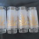 ガラスのコップ 4個セット