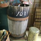 ビンテージ 大きな樽