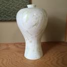 ★値下げしました★【骨董品】天然大理石の白壺
