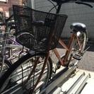 商談中 26インチ自転車 空気入れセット