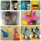 マクドナルドハッピーセットおもちゃ 40種類70個