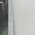 無印良品 カーテン 白 帆布 - 新宿区