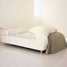 送料無料(都内)半額 無印良品 セミダブル ベッド
