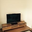 シンプルな北欧家具 テレビ台 高さ32 奥行46 横170