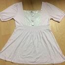 R.F☆ピンク色の半袖カットソー