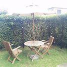 ガーデン  テーブル セット  庭  チェアー  イス  2脚付き