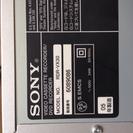 【取引中】sony DVD VHSレコーダー - 家電