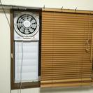 【即売れしました!】窓用換気扇【喫煙所、DIY】