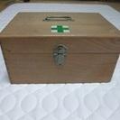 木製の薬箱(救急箱)/ 収納