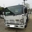 平成19年式 いすゞ エルフ 5段クレーン 2t ワイド キーレス...