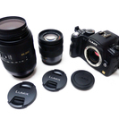 [終了しました] 一眼レフ デジタルカメラ 完動品 交換レンズ2...