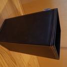 アスベル 角型レザーゴミ箱