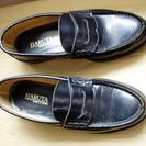 革靴。HARUTA。日本製、中古。サイズ、25,1/2,EEE