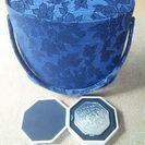 ( 再投稿)資生堂 花椿の手鏡&化粧品BOX