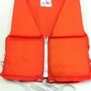 救命具ライフジャケット7 大人 。オレンジ色、Mタイプw44h5...