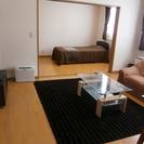 マンスリー・ウイークリーでのご契約が可能な家具・家電付の禁煙ルームです。