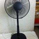 短期使用 扇風機30cm。ヤマゼンWJ-306R首振り、風量調整...