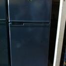 短期使用冷凍冷蔵庫 、シャープ2ドア 紺 89L、SJ-9MJ、...