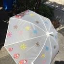 未使用◎マトリョーショカ柄 長傘 色あせあり