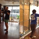 8/17 英語でボクササイズ!大阪心斎橋 Boxercise in...