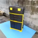 樹脂製工具箱(車輪付き)