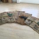 【中古】コーヒー豆が入った麻袋 売ります。 8月24日まで 【取...