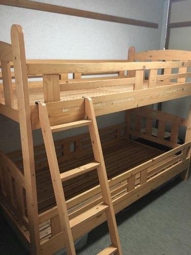 2段ベッドあげます (ヨッシー) 枚方公園のベッド《二段ベッド》の中古