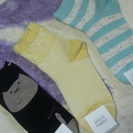 350円(値下げ)新品の靴下3点セット