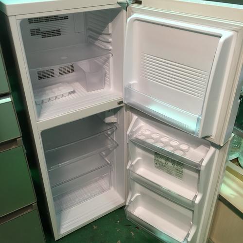無印良品 良品計画 2ドア 冷蔵庫 137L M-R14D ホワイト シンプルデザイン