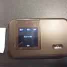 NTTドコモ モバイルWi-Fiルーター HW-02E チョコレート