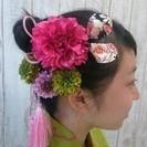 20歳のお嬢様必見!成人式の晴れ着にぴったりの髪飾りを自分で作りま...