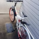 折りたたみ自転車 ギア無し ジャンク