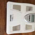 【不用品の処分】体重計 説明書付き AITEC/MA-266
