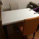 ダイニングテーブル 椅子2脚 セット ニトリ