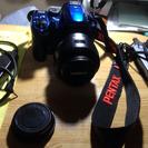 pentax k30 + レンズ18-55mm 値下げ