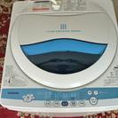 東芝全自動洗濯機 5kg 2012年製 風乾燥機能付き