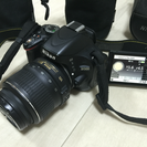 Nikon一眼レフカメラ+レンズ3本+ケース他