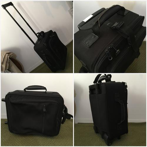無印良品 ソフトキャリーバッグ ブラック 黒 キャスターロック機能 段階調節機能