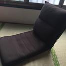 リクライニング機能付き座椅子
